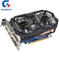 GIGABYTE Nvidia Graphics Card GTX 750 Ti with NVIDIA GeForce WINDFORCE 2X Gtx 750 Ti GPU 2GB GDDR5 128 Bit Video Card Used Cards