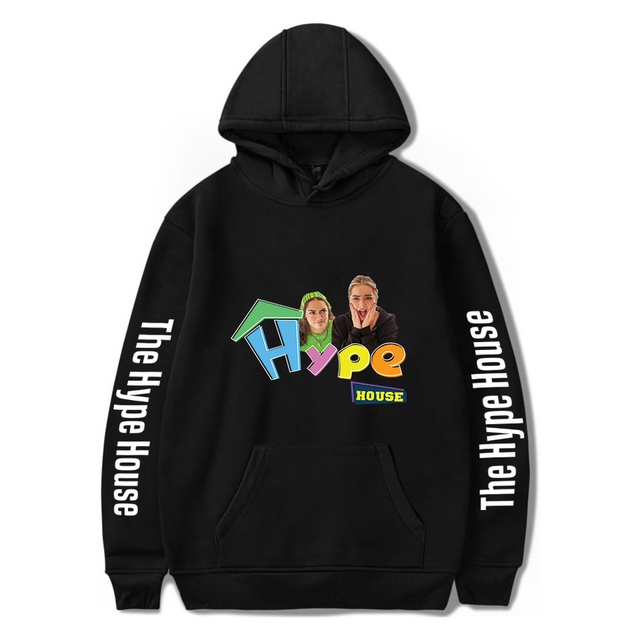THE HYPE HOUSE THEMED HOODIE (25 VARIAN)