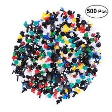 100/200/500 Pcs Universal Mixed Auto Fastener Car Bumper Clips Retainer Rivet Door Panel Fender Liner For All