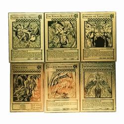 Yu Gi Oh Slifer the Sky Dragon Metal Egyptian God Toys Hobbies Hobby Collectibles Game Collection Anime Cards
