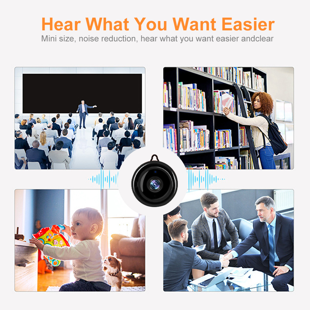 720P Wireless Mini IP Camera With Night Vision Micro Cam For Your Home Security 3