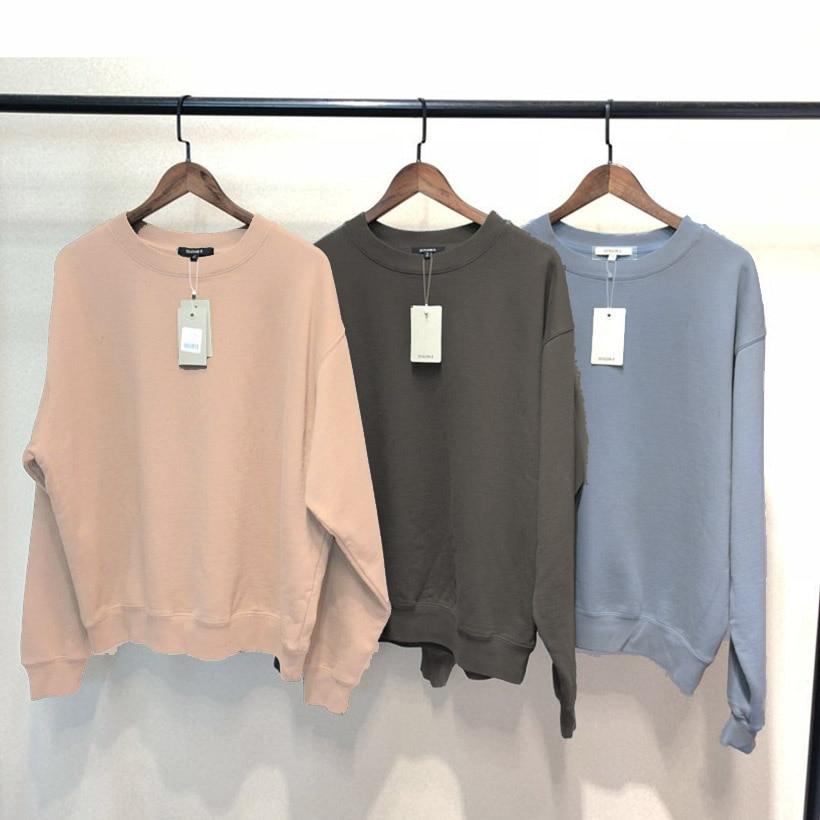 Kanye West Season 6 Sweatshirt Solid No Fleece Men Women Hoodies Sweatshirts Season 5 Clothes
