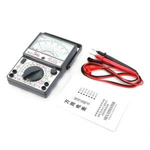 MF-47C analógico multímetro dc/ac tensão medidor de corrente detecção infravermelha handheld hfe tester buzzer teste de bateria