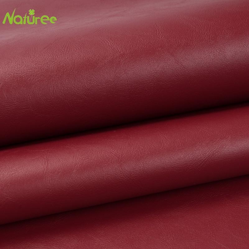 30cm 135cm Wine Red Pvc Napa Pattern
