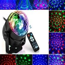 Disco-Light Rgb Laser DJ Activated-Rotating Xmas Sound Colorful Home LED 3W for Ktv-Bar