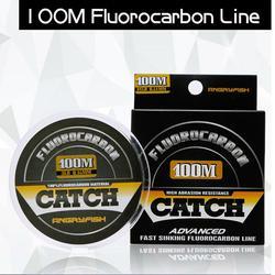 100% żyłka wędkarska fluorowęglowa 100m przezroczysty węgla żyłka monofilamentowa super wytrzymała żyłka wędkarska