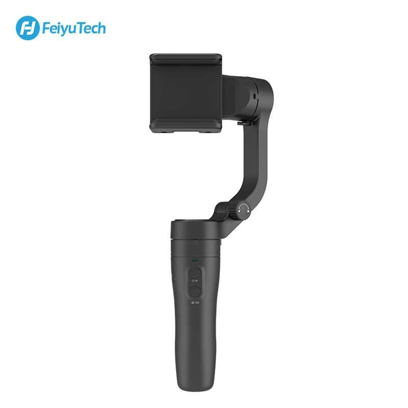 FeiyuTech Vimble 2/vlog جيب Gimbal 3-Axis يده الذكي مثبت القطب ترايبود للهاتف Gopro كاميرا