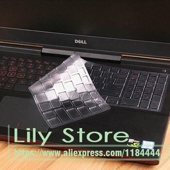 Para Dell Inspiron 3000 15 5000 para Dell G7 7588 G7-7588/G3 3579/3779/G5 5587 G5-5587 portátil Tpu del teclado Protector de la piel