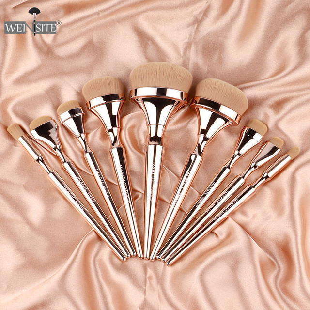 9PCS/set Professional Makeup Brushes Set Eye Shadow Eyeliner Eyelash Eyebrow Powder Brushes For Makeup Foundation Brushes Set 1