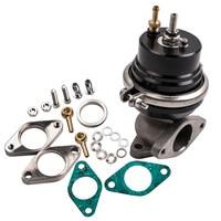 38mm Aluminum Adjustable Turbo Manifold External Wastegate 8 PSI Spring