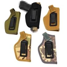 Taktik IWB tabanca kılıfı gizli taşıma çantası Subcompact için kompakt tabanca