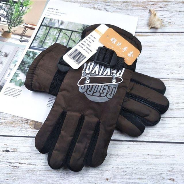 Kinder Winter Warme Handschuhe Wasserdichte Ski Snowboard Handschuhe Jungen Outdoor Fäustlinge G99C