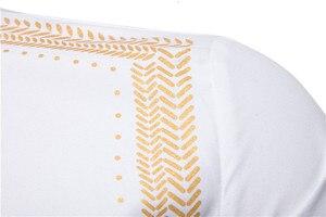 Image 3 - Bello Nero Camicette Uomini Musulmano Camicia di Modo Musulman Blousees Sottile A Maniche Lunghe Cardigan Camicia di Vestito Marocchino Vestiti Islamici