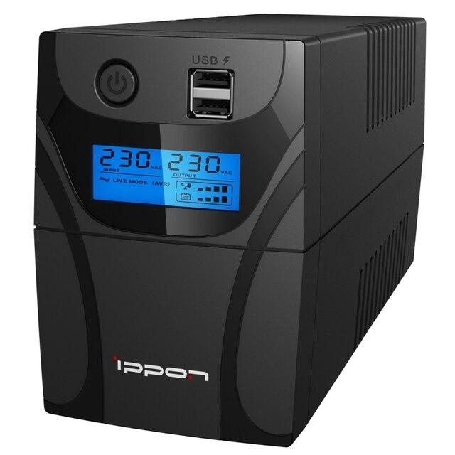 Источник бесперебойного питания Ippon Back Power Pro II 800 480Вт 800ВА черный
