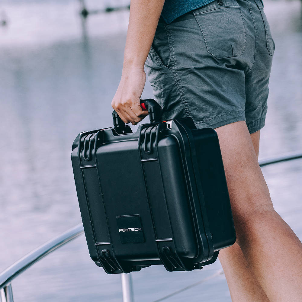 PGYTECH MAVIC AIR 2 Bag waterproof explosionproof Safety Carrying Case Drone Accessories Storage Suitcase for DJI MAVIC AIR 2