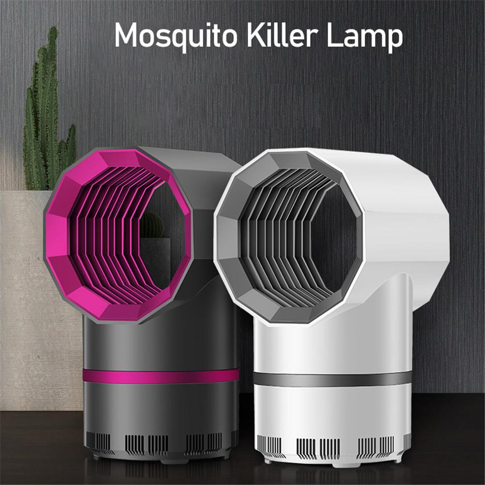 2020 New Efficient Led Mosquito Killer Light USB Insect Killer Bug Zapper Mosquito Trap Lantern Repellent No Noise No Radiation