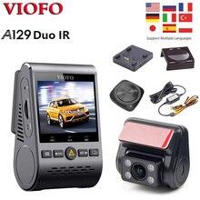 VIOFO A129 Duo IR передний и внутренний инфракрасный Wi-Fi BT пульт дистанционного управления двойной видеорегистратор Full HD 1080P режим парковки Автомо...