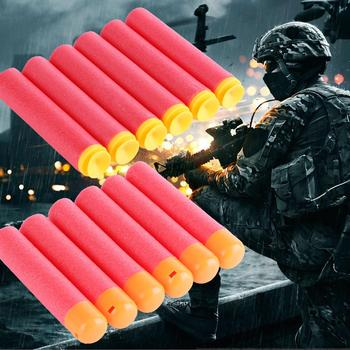 6pcs/lot For Nerf Bullets EVA Foam Soft Hollow Hole Head 95mm Refill Bullet Darts for Nerf Toy Gun Accessories for Nerf Blasters worker f10555 no 152 stf type b set professional toy gun accessories for nerf stryfe black