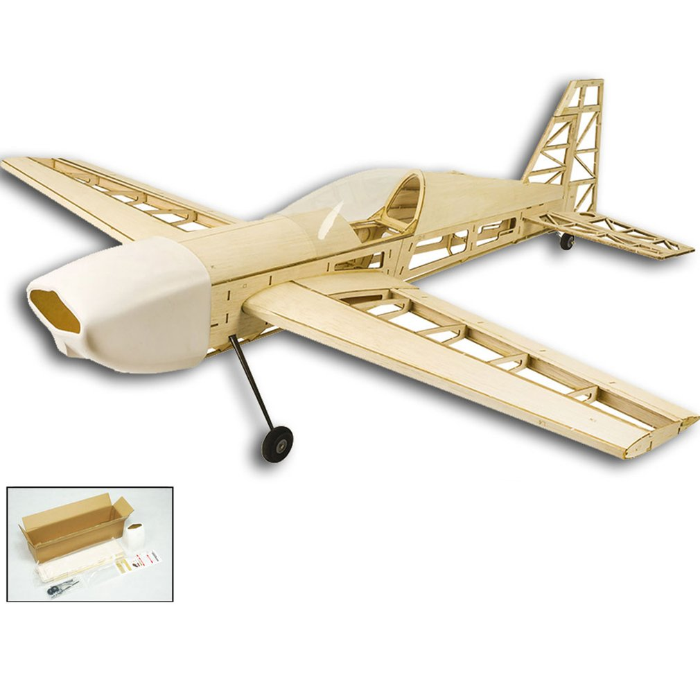 EP EX330 Balsa Wood Training Plane 1.0M Wingspan Biplane RC Airplane Aircraft Model Toys DIY KIT/PNP for Kid