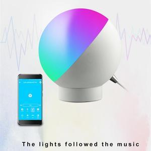 Image 4 - Tuya Smart WiFi lampa stołowa sterowanie bezprzewodowe kolorowe ściemnianie biurko lampka nocna sterowanie głosem za pośrednictwem Alexa Google Home Smart Home