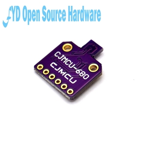 Image 2 - 1pcs BME680 Digital Temperature Humidity Pressure Sensor CJMCU 680 High Altitude Sensor Module Development Board