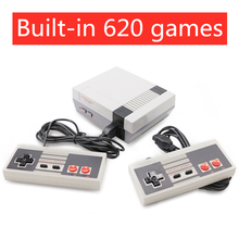 Retro Mini TV Game Console 8 Bit Handheld Game Player Kids Video Gaming Console Built-In 620 Classic Games Gifts