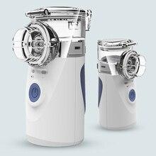 USB Mesh Ultrasonic Nebulizer With Mask Medical Handheld Steam Automizer Mist Inhaler For Asthma Steamer Vaporizer