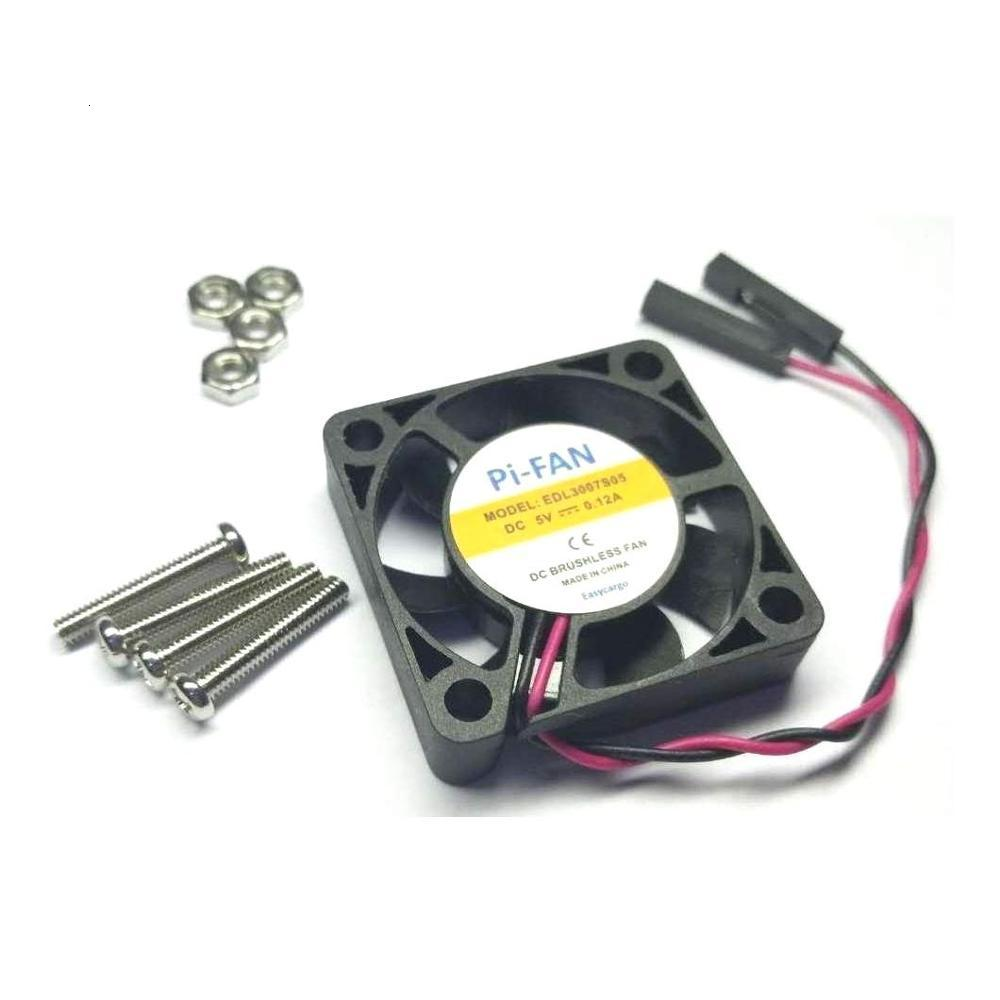 DC 5V 12V 2Pin Dupont 3007 3cm 30mm X 7mm PC Cooling Fan