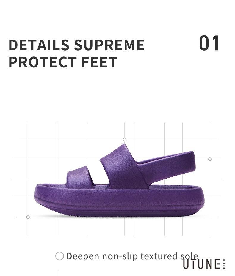 Sandálias de praia de verão sapatos de