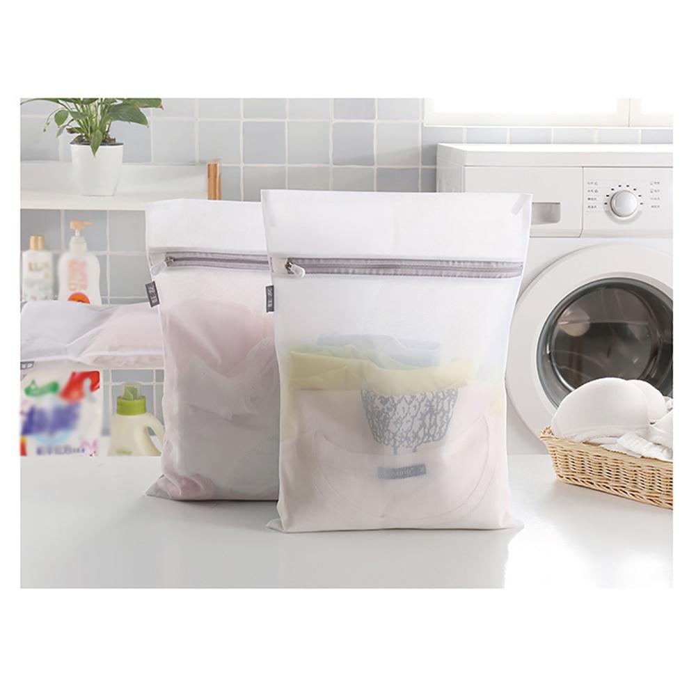 Washing Laundry Bag Clothing Care Foldable Protection Net Filter Underwear Bra Socks Underwear Washing Machine Clothes  M L