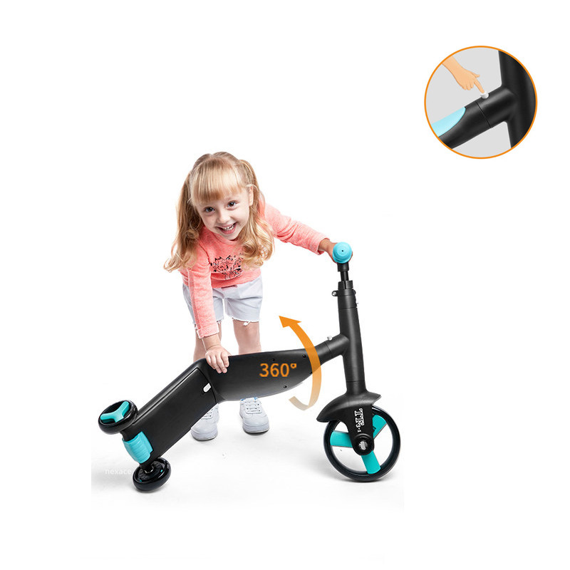 Nadle-patinete triciclo para niños, 3 en 1, bicicleta de equilibrio, Juguetes