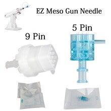 10 unids/lote 5/9 cartucho de aguja EZ aguja del inyector para EZ inyector de agua mesoterapia presión negativa inyección de microcristal