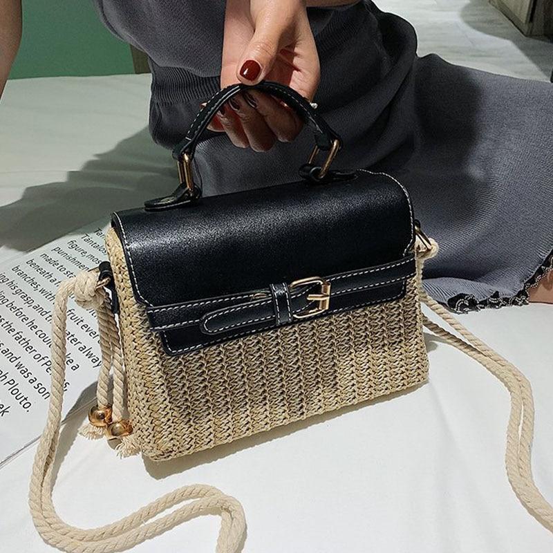 Senior Sense Of Foreign Ladies Bag Summer New Youth Party Wild Messenger Bag College Straw Fashion Handbag