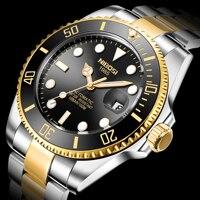 NIBOSI New 2020 Brand Automatic Mechanical Men Watch 100M Waterproof Male Sapphire Glass Sports Wrist Watch Relogio Masculino