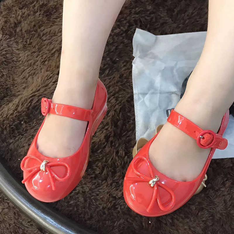 Mini Melissa Yay 2019 YENI Kız Jöle Sandalet Yaz Sandalet Melissa Çocuk Sandalet plaj ayakkabısı bebek ayakkabısı
