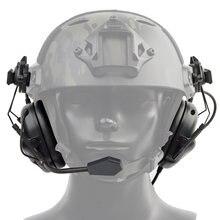 Тактический Шлемы гарнитуры с Быстрый Шлем рельсовый адаптер