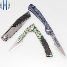 2019 New Titanium Folding Scalpel Pocket Knife Multicolor Outdoor Portable EDC