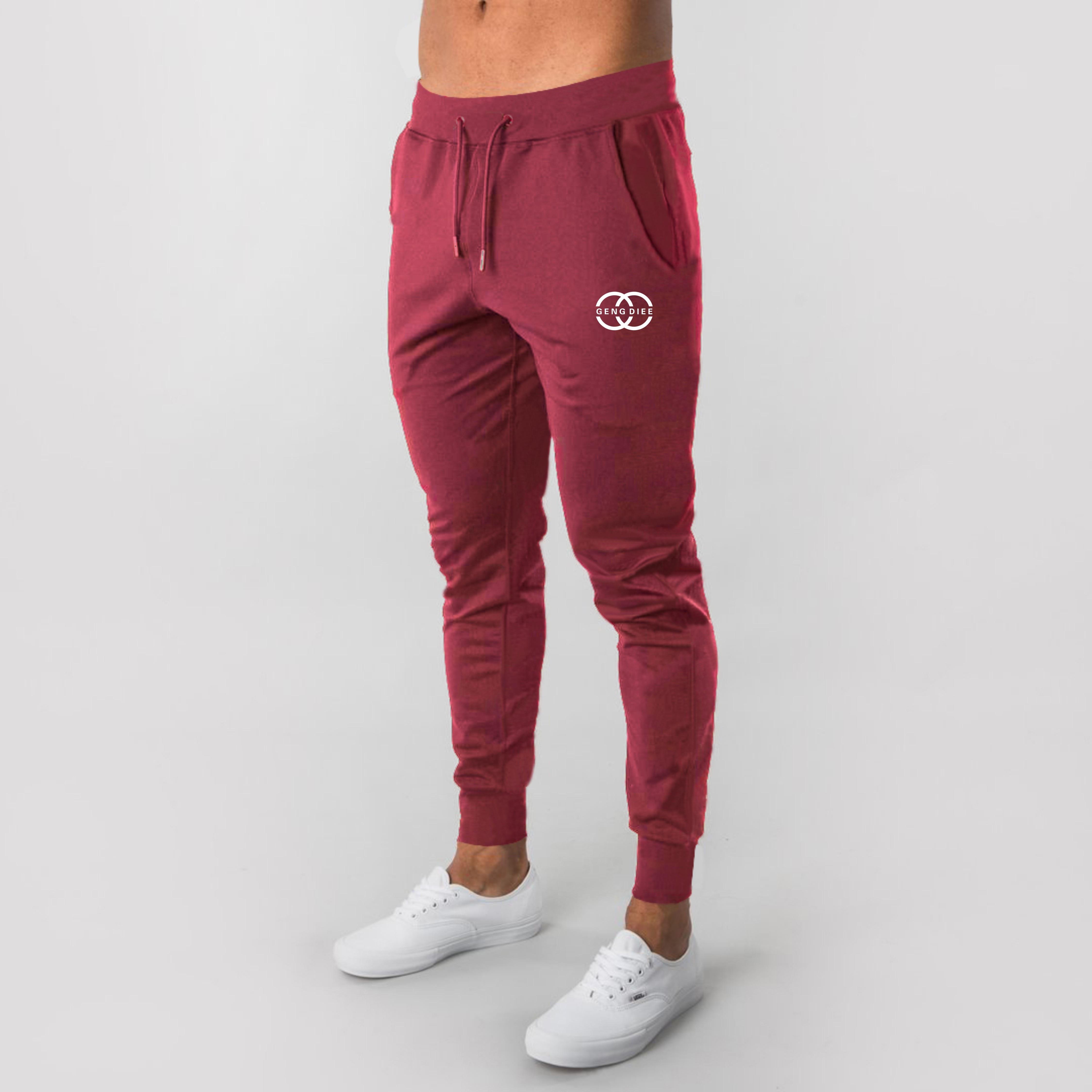 2020 New Fashion Long Trousers printing Sweatpants Men Joggers Multi-pocket Pants Autunm  Male Elastic Waist Men's Sportswear