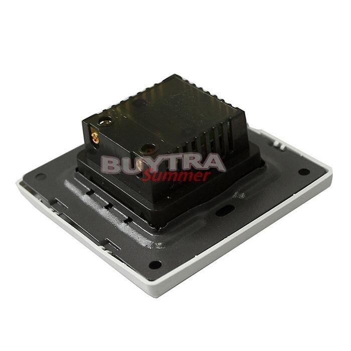 botão de parede regulador de dimmer 220v 10a