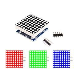 Модуль точечной матрицы MAX7219, модуль управления микроконтролем, комплект «сделай сам», модуль управления светодиодным дисплесветодиодный ...
