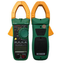 Pinza Digital de CA Mastech MS2008A 600A Amper Clamp Multimeter Backlight datos Hold diodo de prueba de continuidad(China)