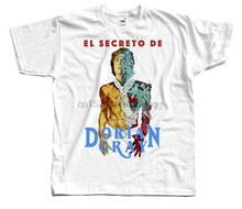 The Picture of Dorian El Secreto El Dorian Gray T SHIRT (WHITE) ALL SIZES S-5XL(China)
