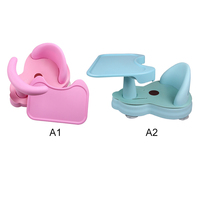 Anti Slip Chair Safety Security Chair Children Bathing Seat Washing Toys Pad Mat Chair Baby Care Baby Tub Seat Bathtub Pad Mat
