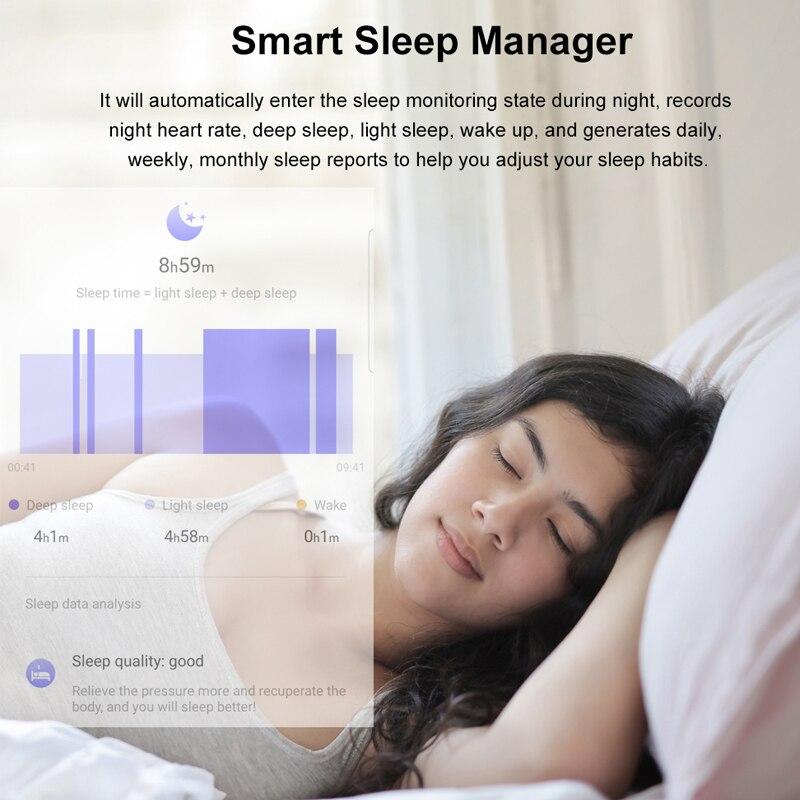 Tiso w37 Bluetooth smart watch band 1.3 inch screen sport sleep heart rate fitness blood pressure oxygen tracker IP68 waterproof 6