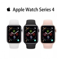Original und verwendet 95% Neue Apple Uhr Serie 4 (GPS, 40/44MM) smart Uhr mit Weiß/Gold/Schwarz iWatch