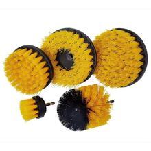 Mocne ścieranie szczotka szczotka na wiertarkę czysta do powierzchni łazienkowych wanna prysznicowa fuga do płytek bezprzewodowy zestaw do czyszczenia szorowania