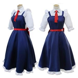 Image 2 - Fräulein Kobayashi der Drachen Maid Tohru Cosplay Kostüm für Frauen Kobayashi San Chi Keine Maid Uniformen Kostüm