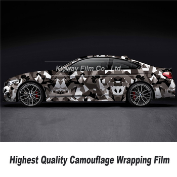 Highest quality camouflage wrapping film Camo Vinyl Camo Vinyl Film Car Wrap Camo Vinyl Wrapping Car Sticker for high end