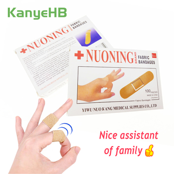 100pcs Waterproof Band Aid Wound Dressings Sterile Hemostasis Stickers First Aid Bandage Heel Cushion Adhesive Plaster H050