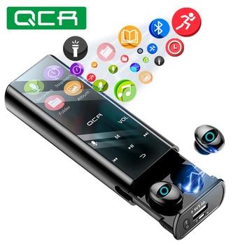 QCR Q1 Wireless Bluetooth Earphone Earbuds Multi-function MP3 Player Earbuds IPX7 Waterproof 9D TWS Earphone 6000mAh Power Bank
